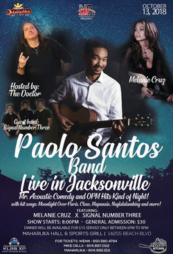 Paolo Santos in Jacksonville