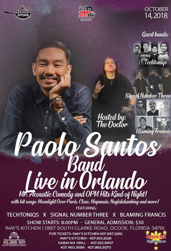 Paolo Santos in Orlando