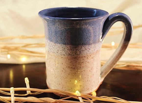 Blue - Cream Large Mug