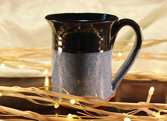 Black & Blue Large Mug