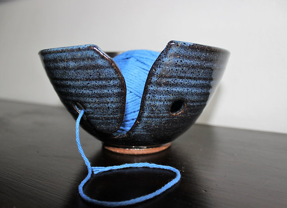 Floating Blue Yarn Bowl