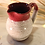 Thumbnail: Raspberry - Cream Large Syrup Pitcher