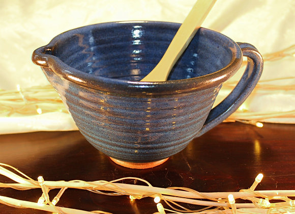 Floating Blue Large Mixing Bowl
