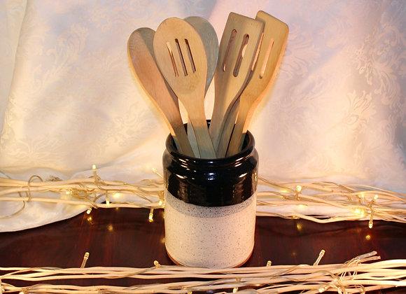Black - Cream Open Jar