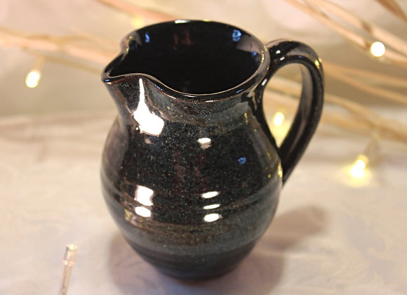 Black Large Syrup Pitcher