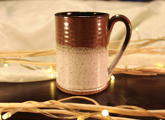 Brown - Cream Small Mug