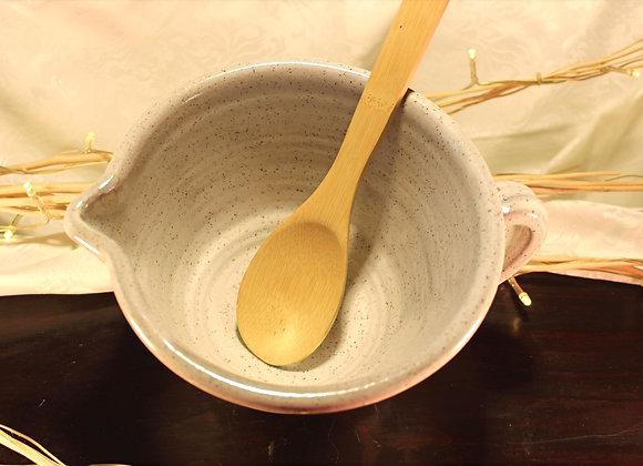 Cream Large Mixing Bowl
