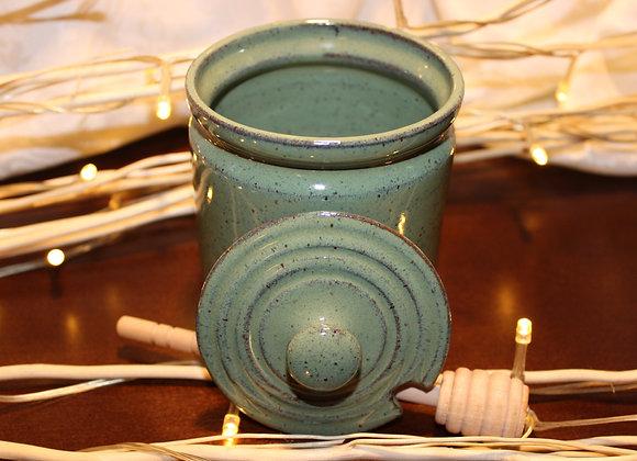 Green Honey Jar