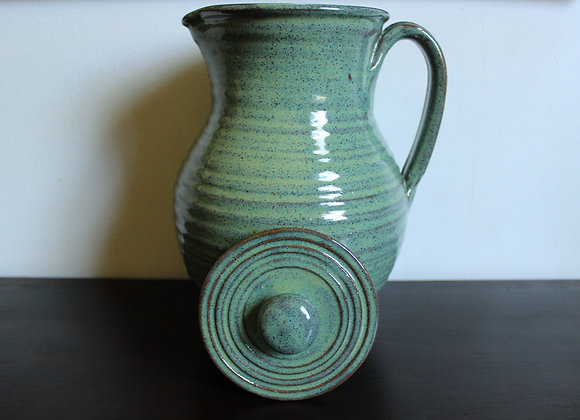 Green Covered Pitcher