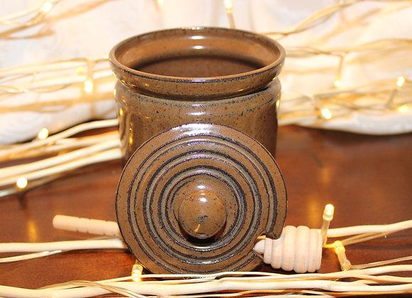 Brown Honey Jar
