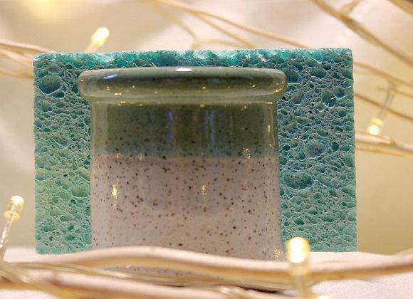 Green - Cream Sponge Holder