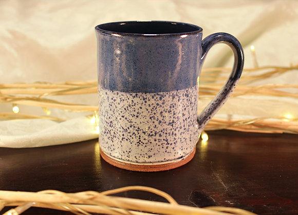 Blue Spotted Small Mug