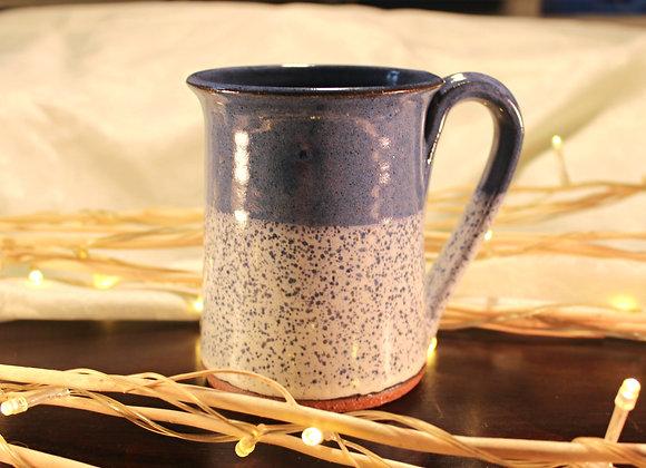 Blue Spotted Large Mug