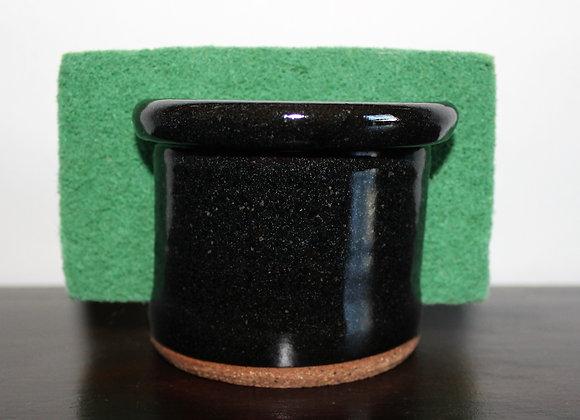 Black Sponge Holder