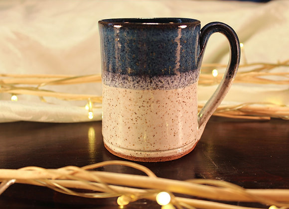 Floating Blue - Cream Small Mug