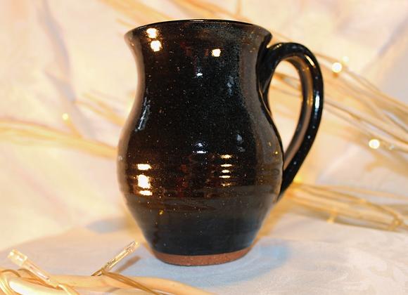 Black Round Mug