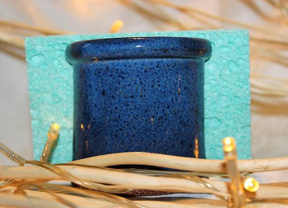 Floating Blue Sponge Holder