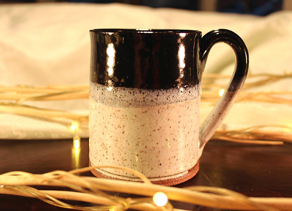 Black - Cream Small Mug