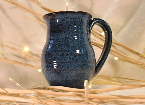 Floating Blue Round Mug
