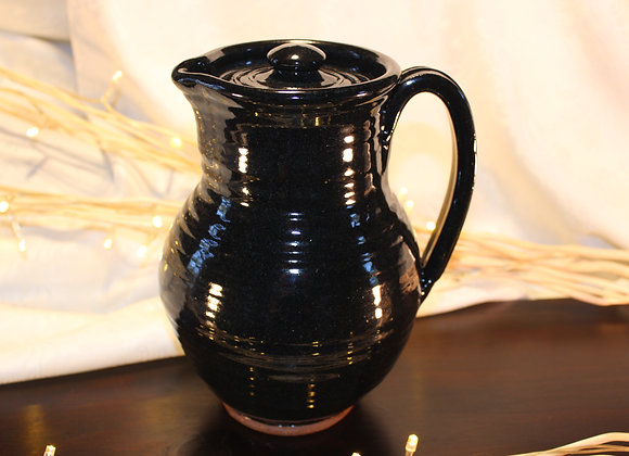 Black Covered Pitcher