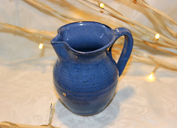 Blue Small Syrup Pitcher
