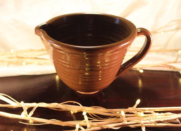 Brown Large Mixing Bowl
