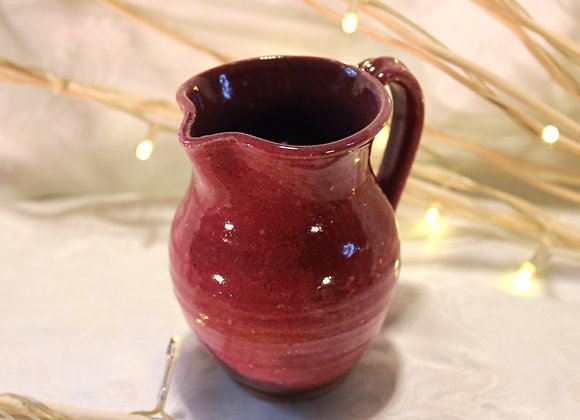 Raspberry Small Syrup Pitcher