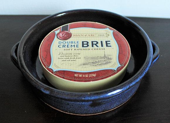 Floating Blue Brie Baker