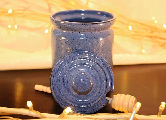 Blue Honey Jar