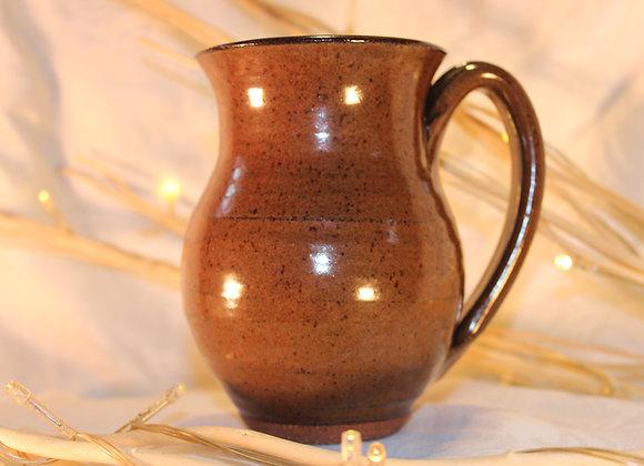 Brown Round Mug