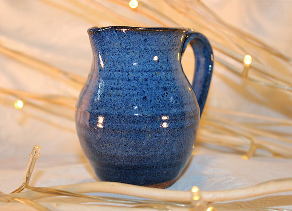 Floating Blue Large Syrup Pitcher