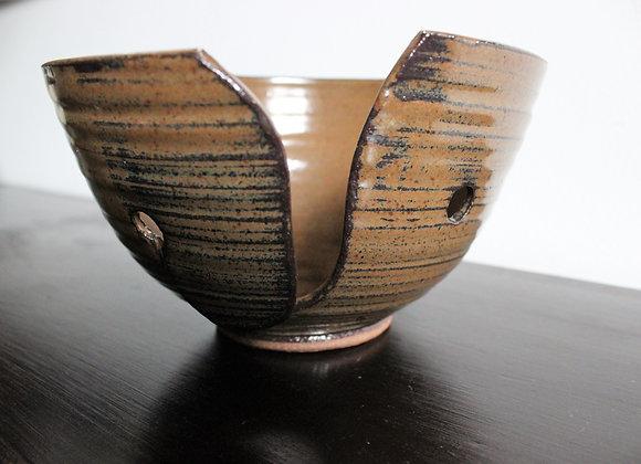 Brown Yarn Bowl