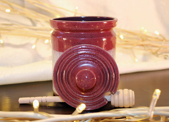 Raspberry - Cream Honey Jar