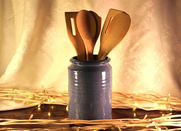 Blue Open Jar