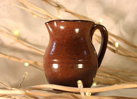 Brown Small Syrup Pitcher