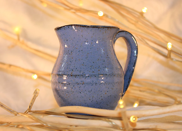 Blue Large Syrup Pitcher