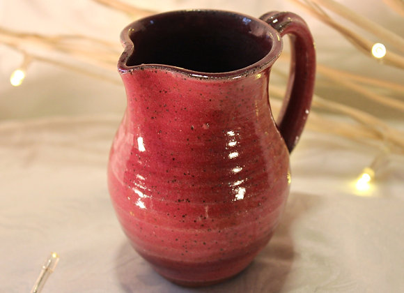 Raspberry Large Syrup Pitcher