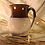Thumbnail: Brown - Cream Round Mug
