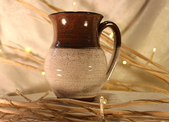 Brown - Cream Round Mug