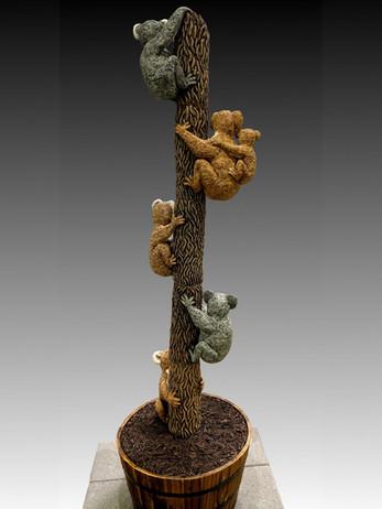 "Koala Tree - 84""H x 24""W x 24""D"