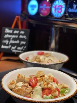 Chicken Ceasers Salad