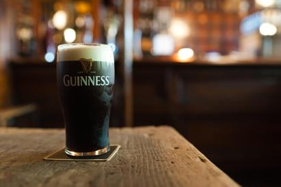 Enjoy your Guinness