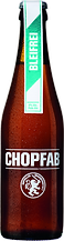 Bleifrei ist ein Alkoholfreies Bier von Chopfab welches wir anbieten in unserem Sauvage Rastaurant und im Pub Sauvage Pub