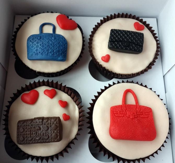 Çantalı Cupcakeler
