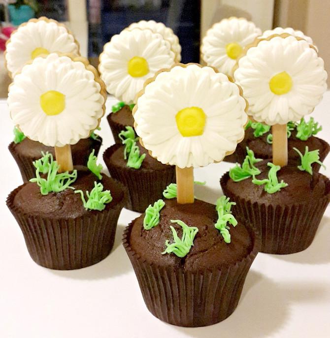 Kurabiyeli Cupcake'ler