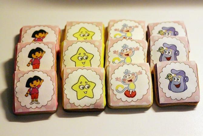 Dora Kurabiye & Cupcake'ler