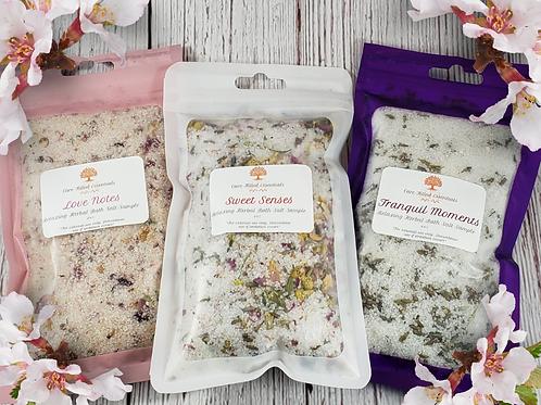 CFE's Relaxing Herbal Bath Salt Sample Pack