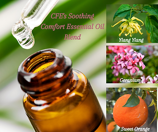 CFE's Soothing COmfort Essential Oil Ble