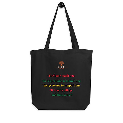 CFE's Commitment Eco Friendly Tote Bag