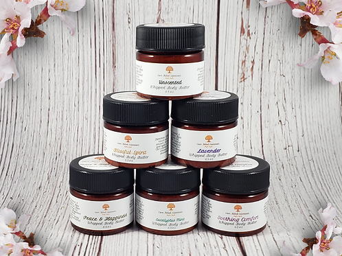 CFE's Whipped Body Butter Try Me Collection